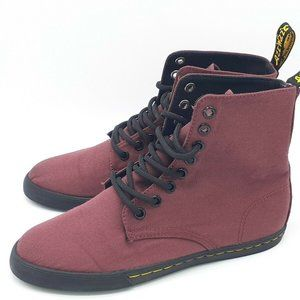 Dr. Martens 'Sheridan J' Women's Maroon Boots US 5